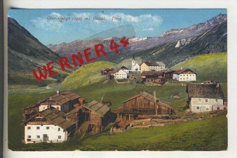 Ober-Gurgl v. 1912  Dorfansicht   (30878)
