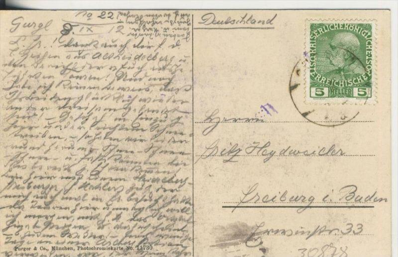 Ober-Gurgl v. 1912  Dorfansicht   (30878) 1