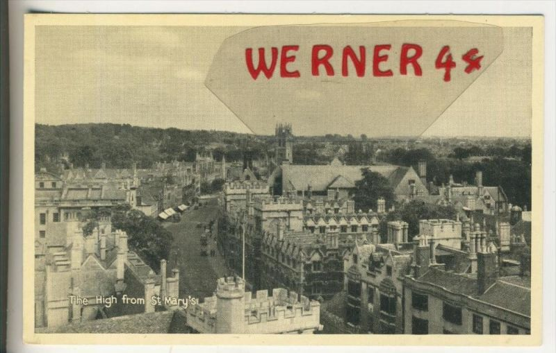 Oxford v. 1955  The High from St Mary`s  (31414)