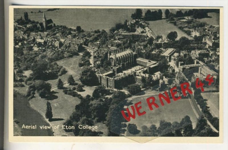 Oxford v. 1955 Arial view of Eton College  (31415)
