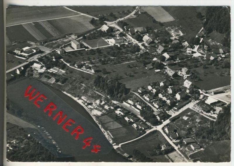 Hinterkappelen v. 1976 Dorfansicht --  Fliegeraufnahme  (31470)