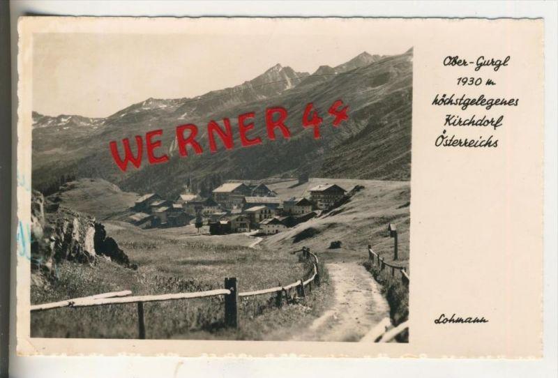 Ober-Gurgl Kirchdorf v. 1940   Höchstgelegenes Kirchdorf  (31503)