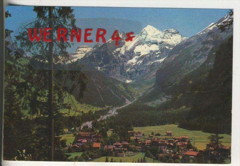 Kandersteg v. 1965  Teil-Dorf-Ansicht(35588)