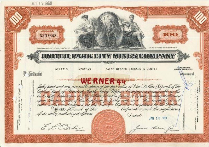 United Park City Mines Company von 1969  (40534)
