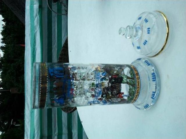 Bierkrug ca. v. 1979 Dortmunder Kronen 250 Jahre --- sh. beschr. !!