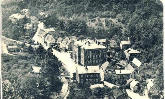 Tharandt von 1921 Teil-Stadt-Ansicht  ( 35979)