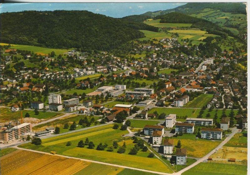 Nussbaumen v. 1976  Total Stadt Ansicht  (43108)