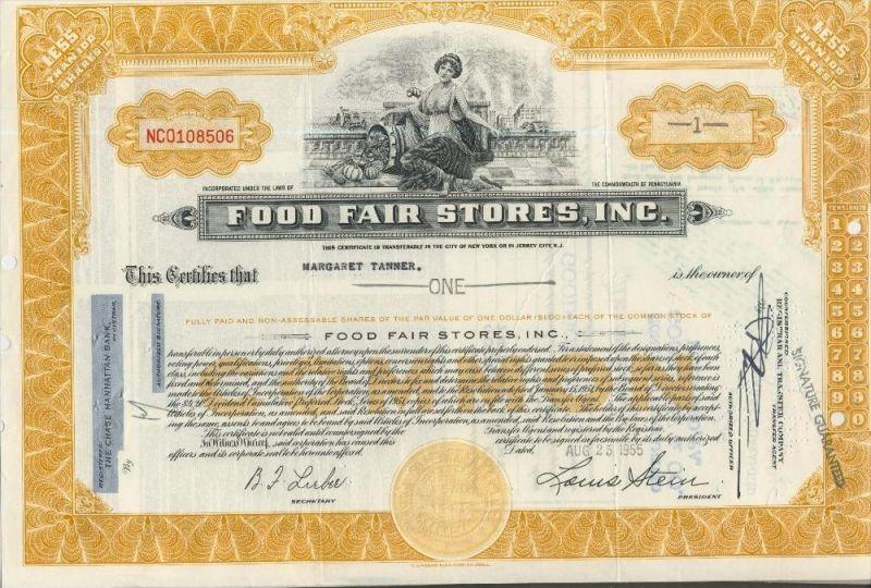 Food Fair Stores, Inc. von 1955   (44000)