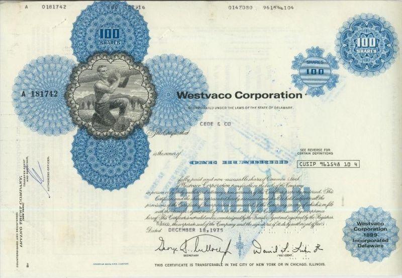 Westvaco Corporation  (44020)