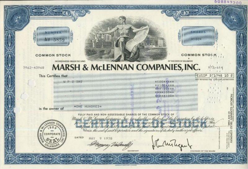 Marsh & McLennan Companies,Inc.  (44022)