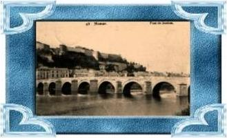 Namur v.1917 Stadt & Brücke (6032)