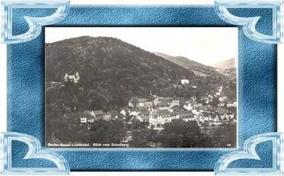Baden-Baden-L .v.1929 Teil-Siedlung .(10214)