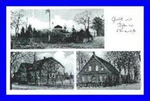 Achmer v. 1940 Schule Bäckerei,Kriegerdenkmal (260)