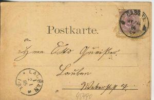 Prosit Neujahr v. 1884 !!  Was das alte Jahr gebracht  (45490) 1