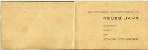 Schornsteinfeger v. 1955  Mit Schwung ins Neue Jahr  (45491) 1