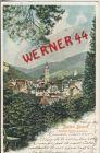 Baden-Baden v. 1902   Teil-Stadt-Ansicht vom Schlo� Solms gesehen   --  siehe Foto !!   (36461)
