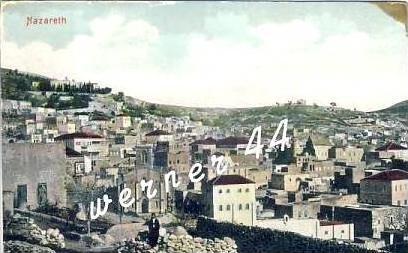 Nazareth v. 1915 Teil-Stadt-Ansicht (27035)