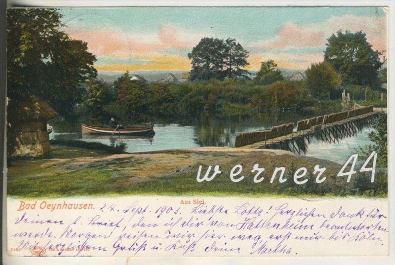 bad oeynhausen v 1903 wehr am siel 11921 aus deutschland plz 30