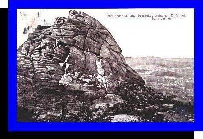 Riesengebirge v.1929 Pferdekopfsteine (1878)