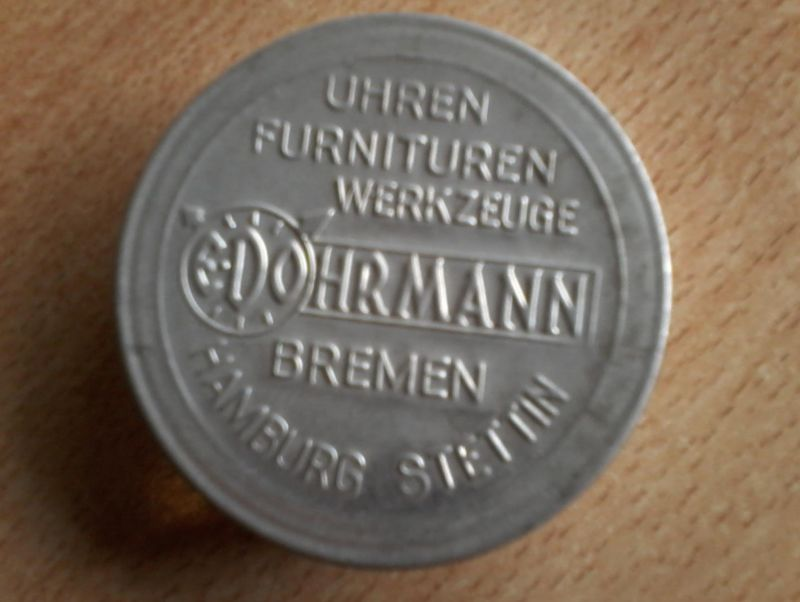 Edo Hermann - Bremen-Hamburg-Stettin v. 1926  Uhren ,Furnituren ,Werkzeuge    (4)