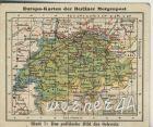 Europa-Karten der Berliner Morgenpost v. 1926     Schweiz  (50399-39)