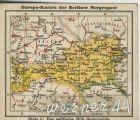 Europa-Karten der Berliner Morgenpost v. 1926     Österreich  (50399-40)