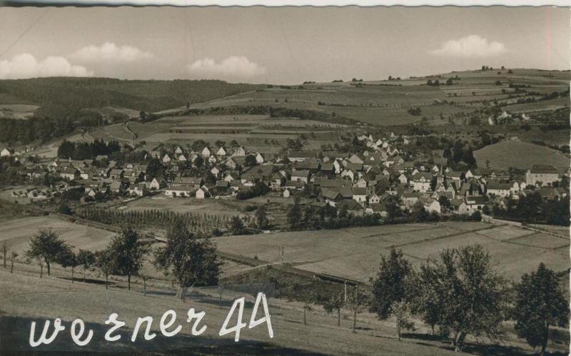 Altengronau v. 1958  Total-Dorf-Ansicht  (50488)