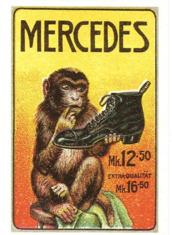 Mercedes Schuhe v. 1980  (50680)