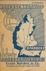 Stuttgart v. 1956 ?  Stuttgarter Adressen Verlag -- Adressenkatalog  (51432)