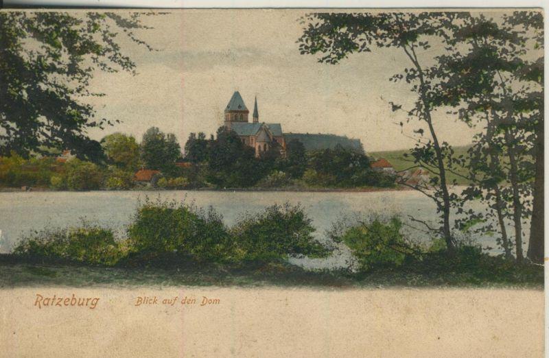 Ratzeburg v. 1908  Blick auf dem Dom  (52062)