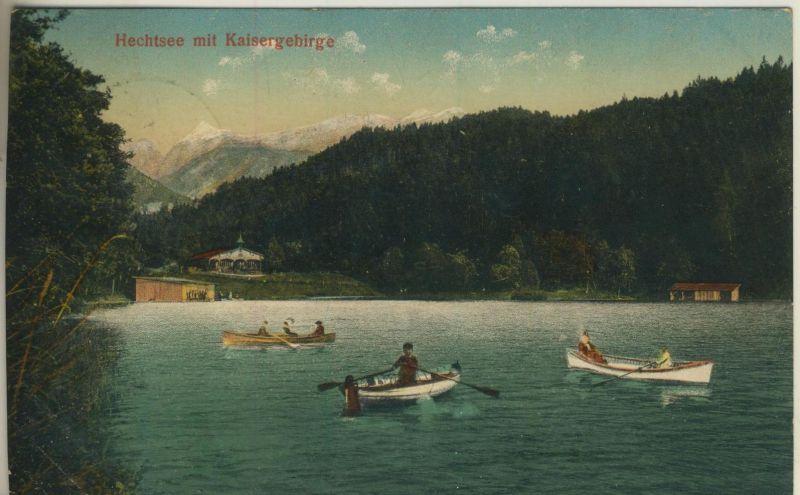 Hechtsee mit Kaisergebirge v. 1908  (52063)