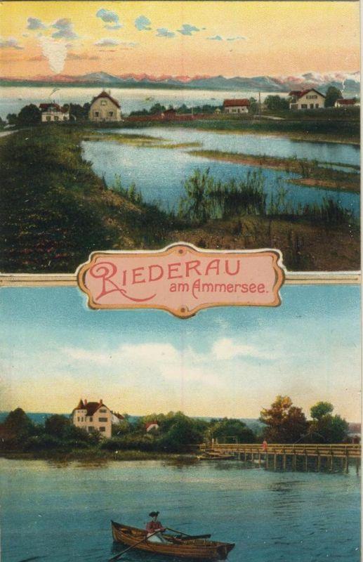Liederau v. 1928  Dorfansicht am Ammersee  (52069)