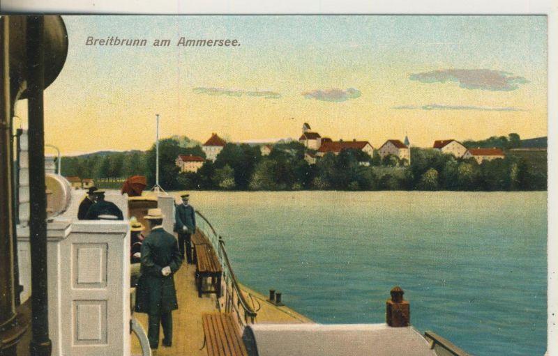 Bretbrunn am Ammersee v. 1928  Dorfansicht  (52071)