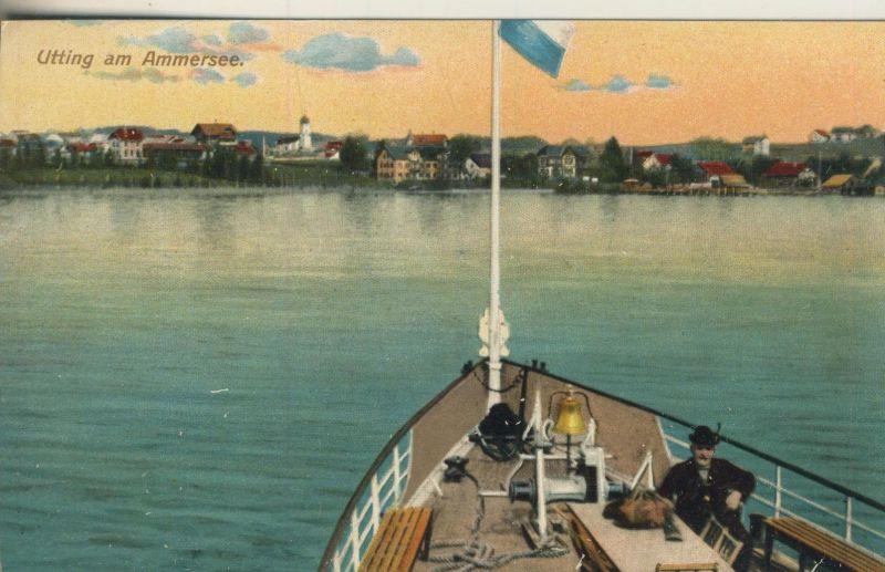 Utting am Ammersee v. 1928  Dorfansicht  (52075)