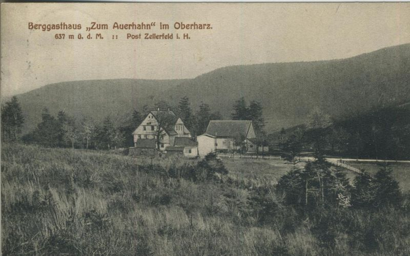 Oberharz v. 1899  Berggasthaus