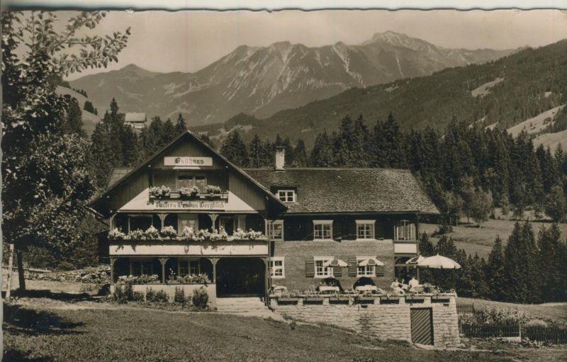 Riezlern-Schwende v. 1955  Gasthaus-Cafe-Pension
