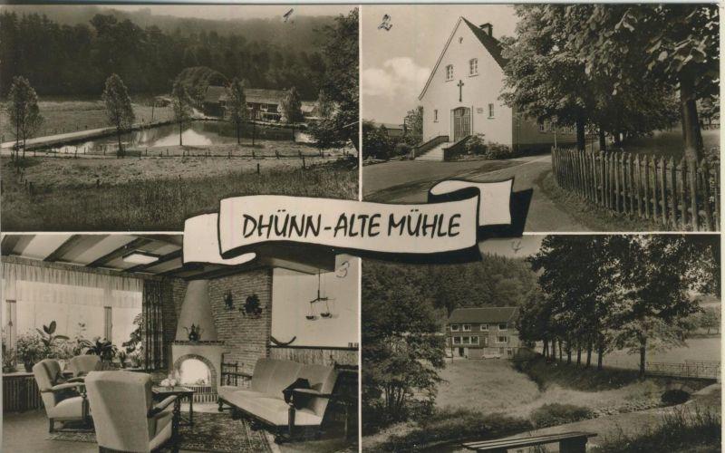 Dhünn v. 1957  4 Ansichten der Alten Mühle  (52252)