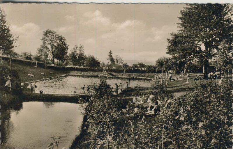Höchstenbach v. 1959  Schwimmbad  (52254)
