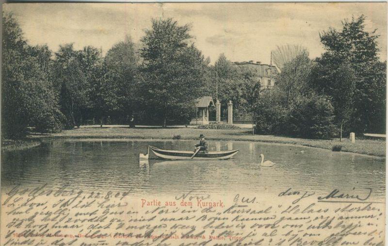 Godesberg v. 1904  Partie aus dem Kurpark  (52960)