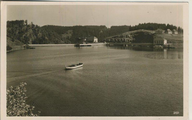 Saalburg v. 1940  Die Saaletalsperre  (52961)