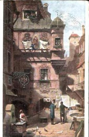 K. Spitzweg v.1907 Kunst & Wissenschaft (14620)