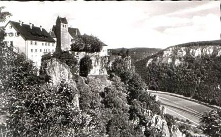 Schloß Werenwag v.1965 (14697)