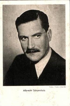 Albrecht Schoenhals v.1952 .(15302)