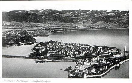 Lindau v.1933 Stadtansicht (15689)