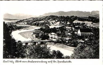 Bad Tölz v.1942 Teil-Stadt-Ansicht (15691)