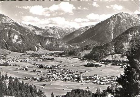 Hindelang v.1963 Dorfansicht (15836)
