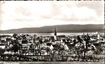 Heidenheim v.1962 Stadtansicht (15853)