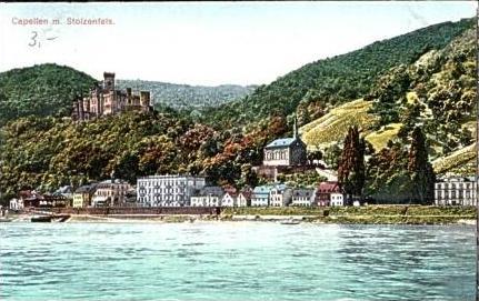 Capellen v.1925 Dorf & Burg (15902)