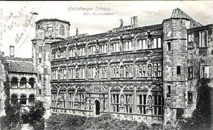 Heidelberg v.1904 Otto Heinrichsbau.(15944)