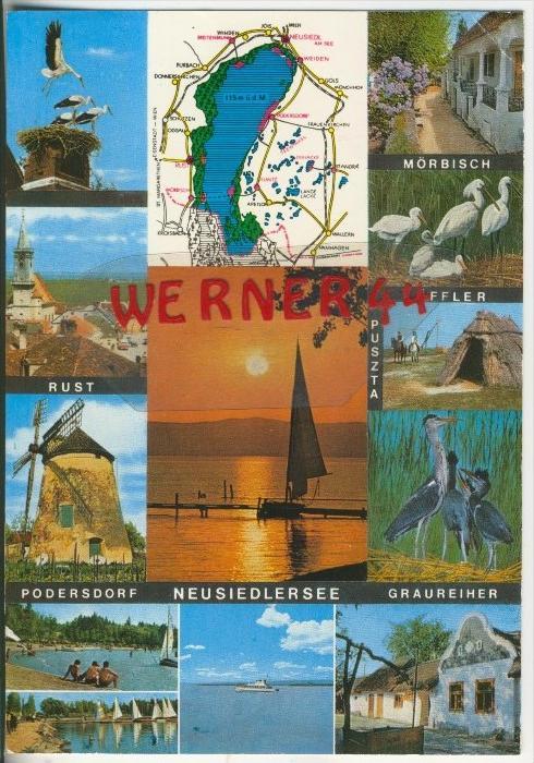 Neusiedlersee v. 1981  12 Ansichten  ( 38402)